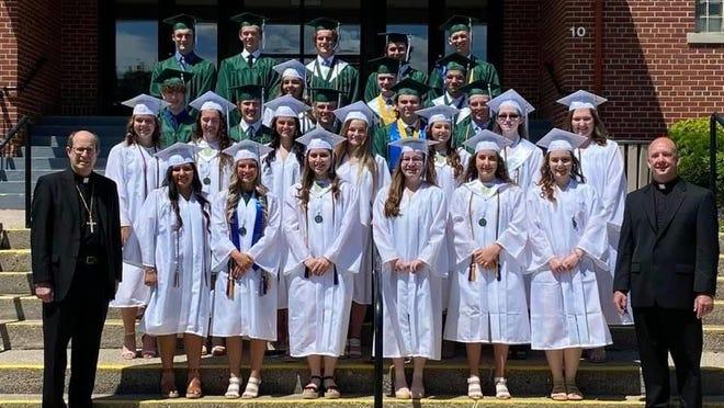 The Portland St. Patrick Catholic School Class of 2020.