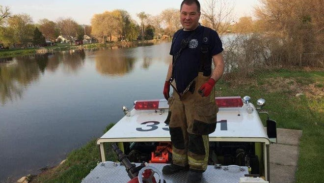 Cpt. Joesph Liedel was a firefighter with the Monroe Township Fire Department for 28 years.