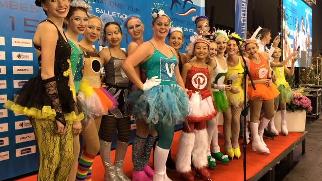 The Space Coast Hurricanes junior Theater on Ice Team took fourth place at an international event in France over the weekend.