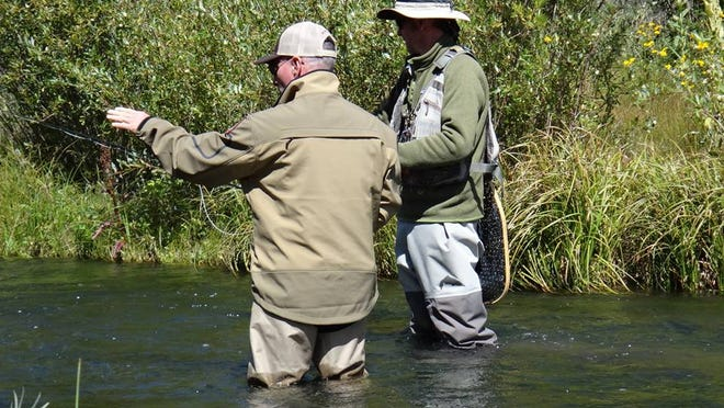 Miraflores Park is hosting a fly fishing course from 6 to 8 tonight.
