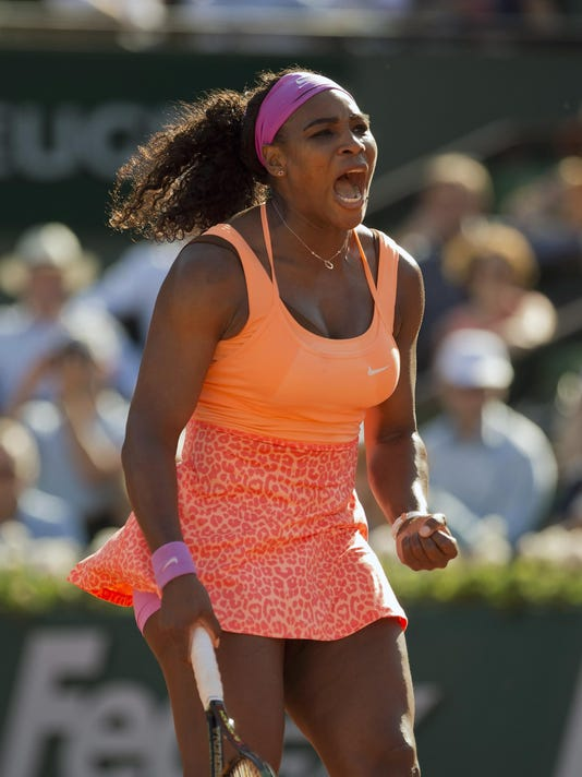 Tennis: French Open S. Williams vs Bacsinszky