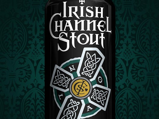 Irish Channel Stout from NOLA Brewing is an homage to the New Orleans Irish neighborhood.