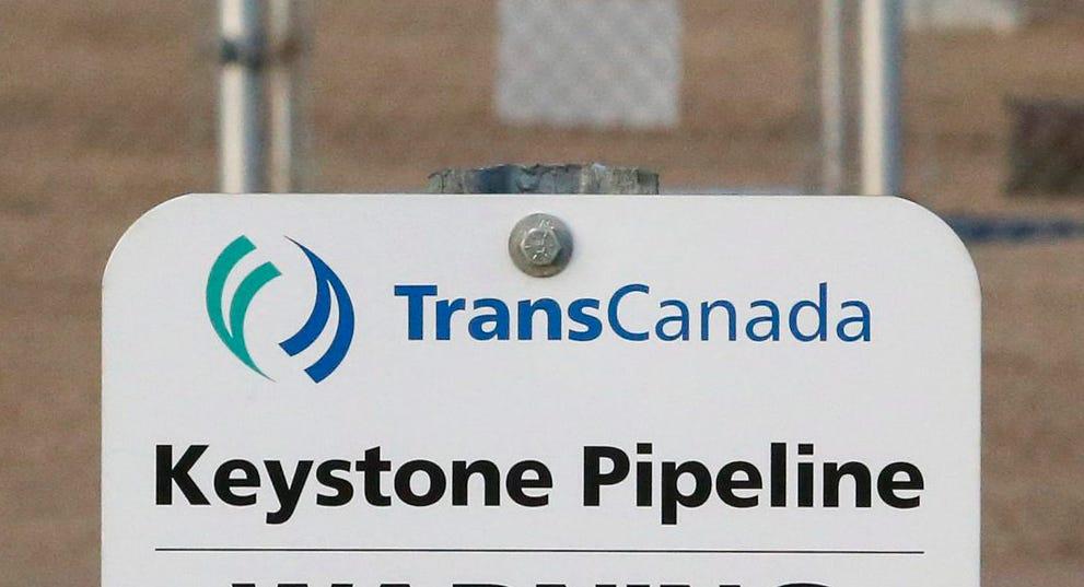 Keystone pipeline leaks 210K gallons of oil in South Dakota