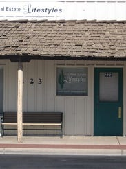 The second location of the Gilbert post office was