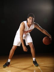 Devin Booker during Phoenix Suns at media day on Sep.