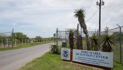The Port Isabel Processing Center in Los Fresnos, Texas