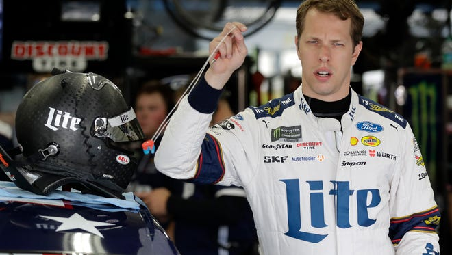 NASCAR driver Brad Keselowski has a fondness for Mustangs, but wonders how they will adapt to the NASCAR circuit.