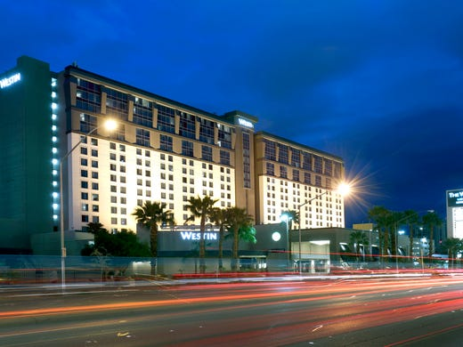 The Westin Las Vegas Hotel Spa Is Just East Of