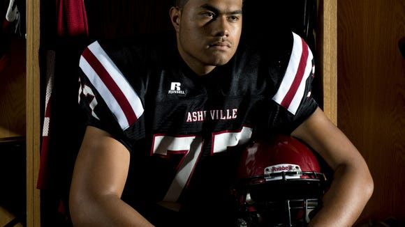 Asheville High senior Pete Leota has been named to