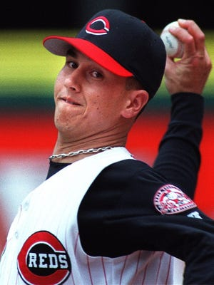 Reds closer Danny Graves in 2000.