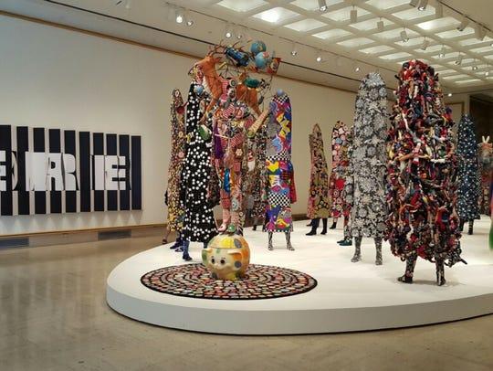 Nick Cave's Here Hear exhibit at Cranbrook Art Museum