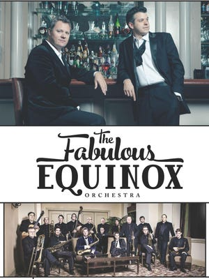 Jeremy Davis (left), Clay Johnson and the Fabulous Equinox Orchestra will perform live at Louisiana Tech on Sept. 26.