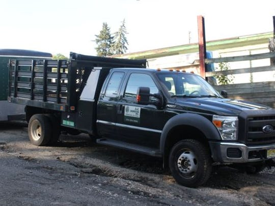 This A-L Services truck was stolen Saturday night in Morris Plains.