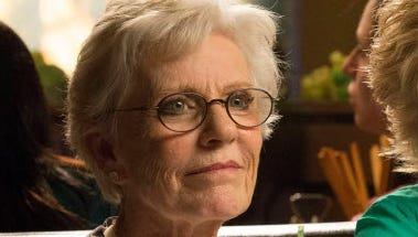 Patty Duke, who guest-starred on 'Glee' earlier this season, went to an Omaha hospital for stomach pains Friday night.