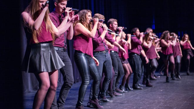 FSU's a capella groups Acabelles and All Night Yahtzee compete on Pop TV's newest reality television show 'Sing it On.'