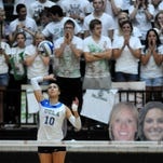 In 2012 the CSU volleyball team lost a five-set thriller to No. 2 UCLA in front of 5,641 fans at Moby Arena.