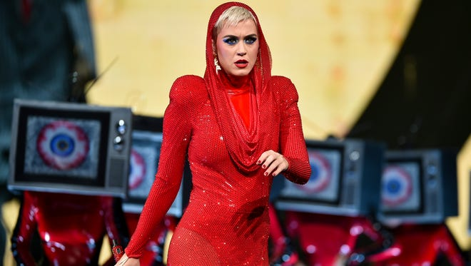 On Monday, Katy Perry played the first show of her 'Witness' tour since a gunman killed 59 people and injured hundreds more at a Las Vegas music festival Sunday night.