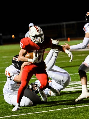 The McPherson High School football team finished the regular season 7-1 and will be the top seed in Class 4A West after defeating Augusta 32-14 on Friday night.