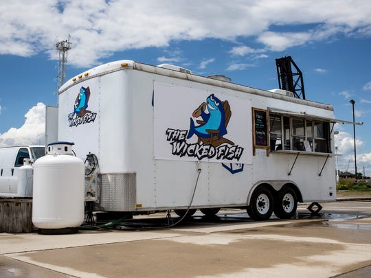 The Wicked Fish food truck has opened at Vantage Point in Port Huron.