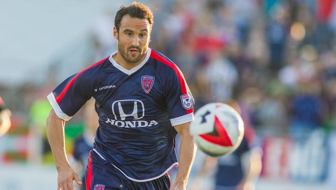 Indy Eleven forward Eamon Zayed will join Ball State as an assistant coach in his spare time.