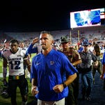 University of Memphis head coach Mike Norvell discussed the Tigers' 42-28 loss to Navy and looked ahead to Saturday's game against the Golden Hurricane.