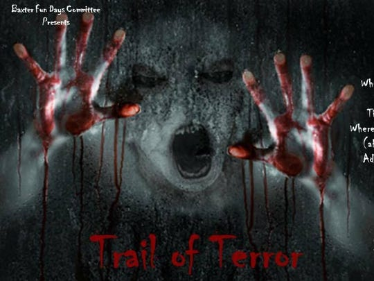 Trail of Terror promotional poster