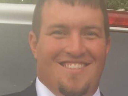 Ripley head football coach Justin Cruse