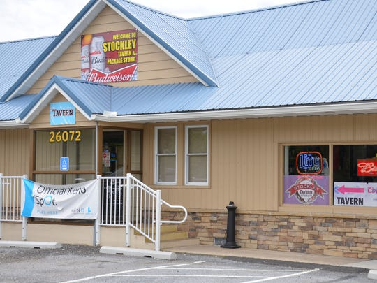 Stockley Tavern & Package located at 26072 Dupont Blvd, Georgetown, DE.