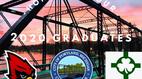 Portland has been collaborating with Portland High School and St. Patrick Catholic School to honor the Class of 2020 graduates, City Manager Tutt Gorman said in a Facebook post on Monday, June 1.