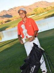 Phoenix Brophy College Prep freshman Noah Nuez.