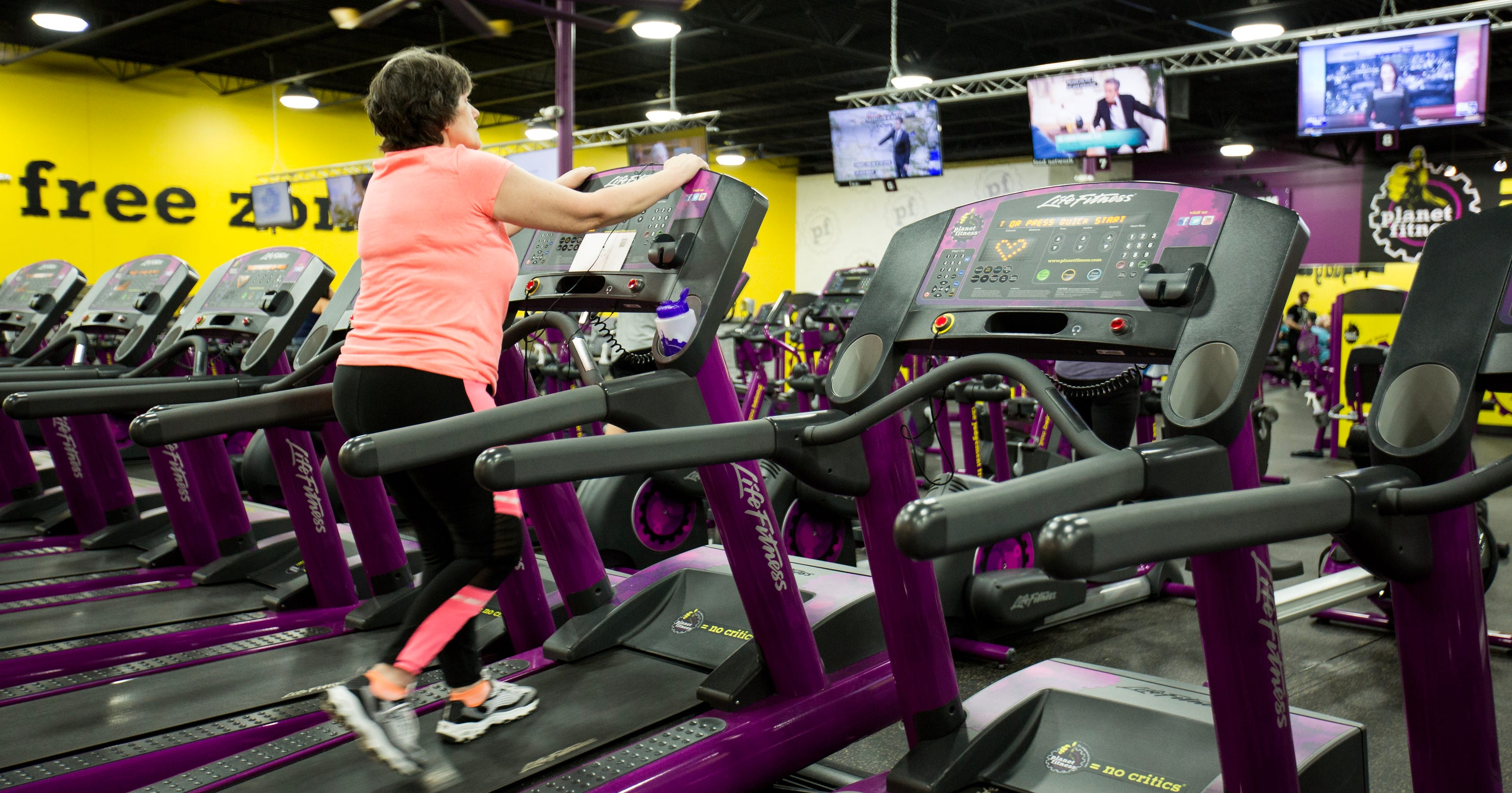 Delta twp woman walks away loneliness at planet fitness gym