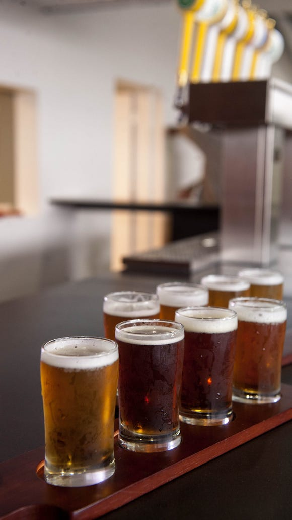 Flying Fish is among the regional craft brews on tap at the Pour House Pop Up Beer Garden.