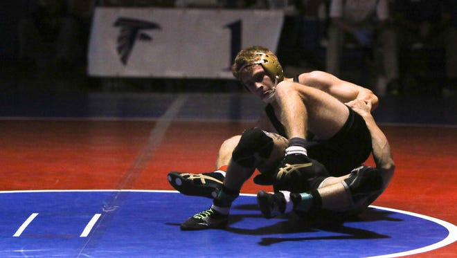 North Henderson wrestler Will Baldwin has committed to wrestle in college for Davidson.