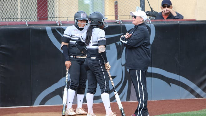 New Mexico State associate head softball coach Cat Heifner, right, has joined Minnesota's coaching staff. Heifner spent 14 seasons at NMSU.