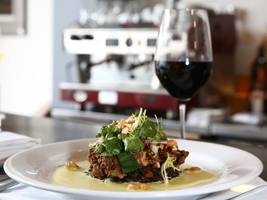 The roasted cauliflower at the Artist's Palate in the