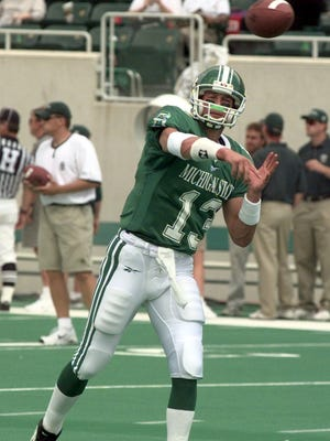 Former  MSU quarterback Ryan Van Dyke is a member of the first Hall of Fame class at Marshall
