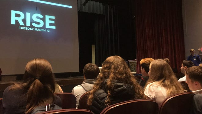 """Theater kids in Hastings received a $10,000 """"RISE America"""" grant from NBC, tied to the network's new drama, """"Rise,"""" which premieres March 13. The school will use the grant to create a multi-school production of """"Hairspray"""" at Hastings in 2019."""