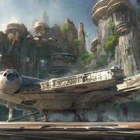 Star Wars Land rendering.