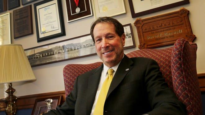David Maxwell will retire this summer as president of Drake University.