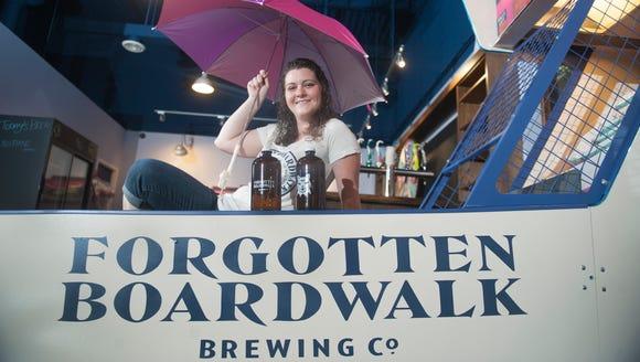 Jamie Queli, owner of Forgotten Boardwalk Brewing Co.