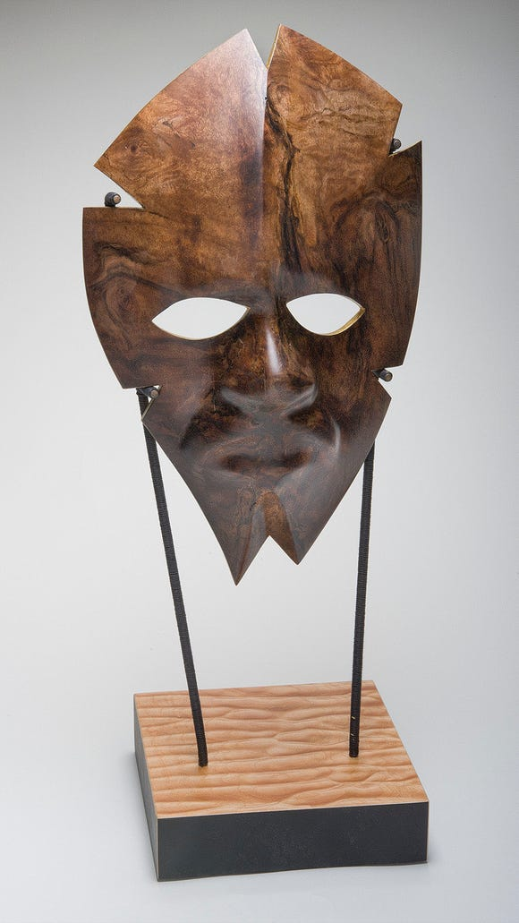 """""""Vision Reigns"""" by Scott Grove, created with a mold"""