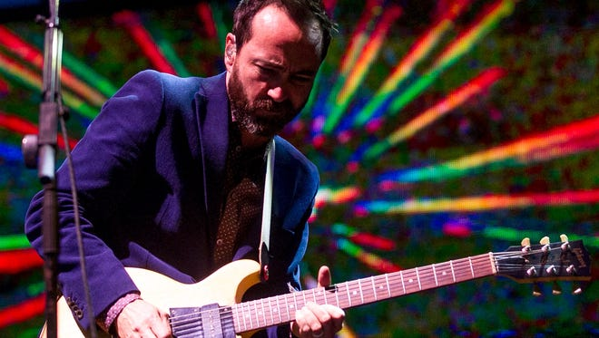 Broken Bells perform at the Outdoor Stage during the Coachella Music & Arts Festival Weekend 1 held at the Empire Polo Club in Indio on Friday, April 11, 2014.