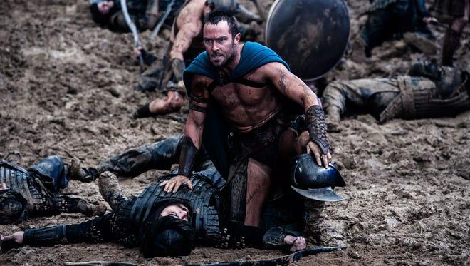 """Sullivan Stapleton stars as Themistokles in """"300: Rise of an Empire."""""""