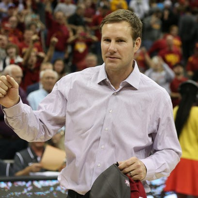 Iowa State men's basketball head coach Fred Hoiberg