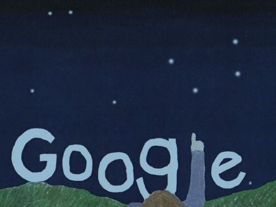 Catherine Skibicki, a sixth-grader at Cab Calloway School of the Arts, is one of 53 finalists in this year's Doodle 4 Google contest. Her doodle was inspired by the night sky, she said on her submission form.