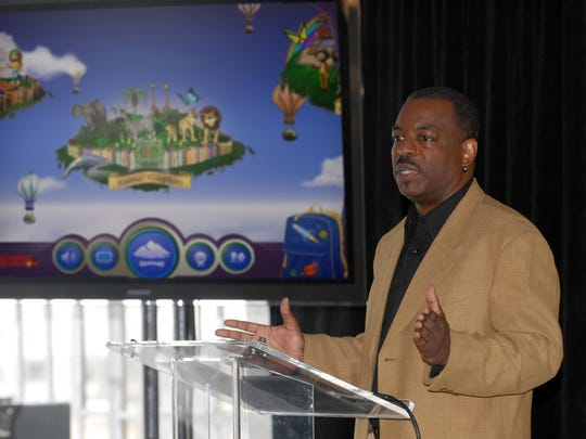 """LeVar Burton's campaign to bring """"Reading Rainbow"""" to the online masses is off to an impressive start. It reached its fundraising goal within hours of its launch on Wednesday on Kickstarter.com."""