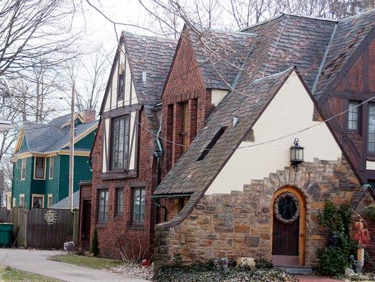 An Elizabeth Street home in Battle Creek's Historic