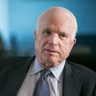U.S. Sen. John McCain, R-Ariz., opposes the idea of