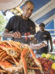Each year more than 100,000 attend the Pensacola Seafood