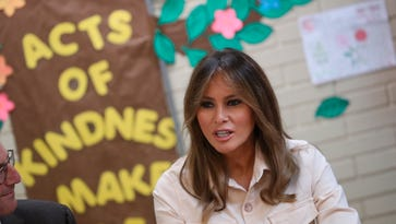 First lady Melania Trump steps in again on migrant kids crisis in surprise trip to Texas
